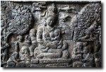 Frieze of a scene from the Buddha's life