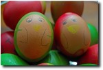 """Alea's artistic contribution was these two """"penguin eggs"""""""