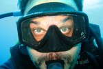 And Dave takes a self portrait. We'll post more pictures soon of non-diving activities, but suffice to say - we had a great time!