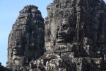Massive faces at Bayon (near Ankgor Wat)