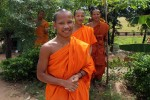 Monks keen to practice their English