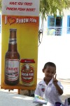 Cute kid with beer (in Siem Reap)