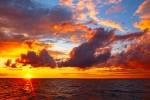 Beautiful Lake Michigan sunset
