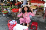 Street market vendor