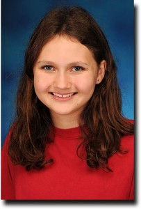 Alea's school picture from seventh grade