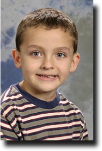 Breck's school picture from first grade