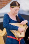 Musical entertainment with traditional instruments.