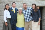 Love this picture of Shari, Rob, Yiayia, Dave, and Karla!