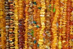 Amber beads for sale.