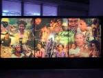 When we made it to the museum, we came across a very cool panorama showing the indigenous peoples of the various islands.
